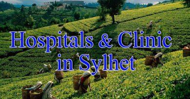 Hospital & Clinic List in Sylhet